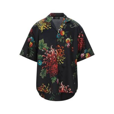 ディースクエアード DSQUARED2 シャツ ブラック 54 コットン 100% シャツ