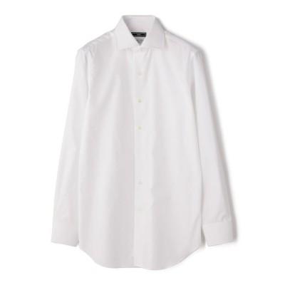 【シップス】 SD: ALBINI バンド ソリッド ワイドカラーシャツ メンズ ホワイト 40 SHIPS