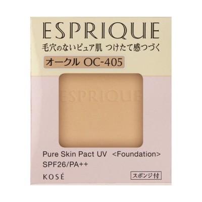 エスプリーク ピュアスキン パクト UV OC-405 オークル ( 9.3g )/ エスプリーク