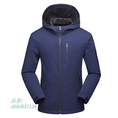 ジャケット メンズ アウター フード付き ミリタリージャケット 防風 ランニング 暖かい 防水 アウトドア 大きいサイズ