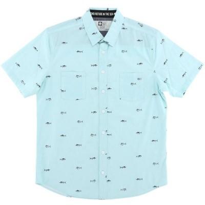 ソルティークルー Salty Crew メンズ トップス Market Woven Shirt Teal