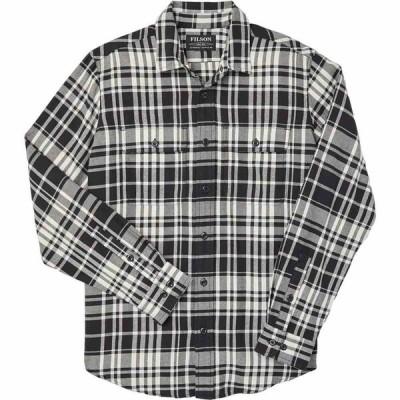 フィルソン Filson メンズ シャツ トップス scout shirt Black/Cream Plaid