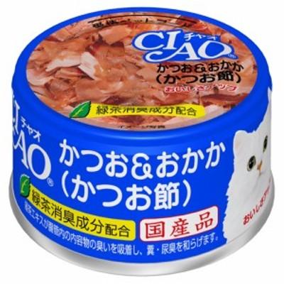 CIAO ホワイティ かつお&おかか(かつお節) 85g A-10【イージャパンモール】