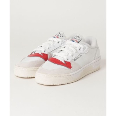スニーカー adidas RIVALRY LOW (FOOTWEAR WHITE/CHORK WHITE/GLORY RED)