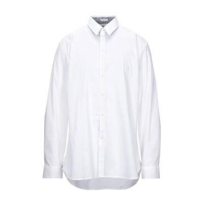 ゲス GUESS シャツ ホワイト S コットン 76% / ナイロン 21% / ポリウレタン 3% シャツ