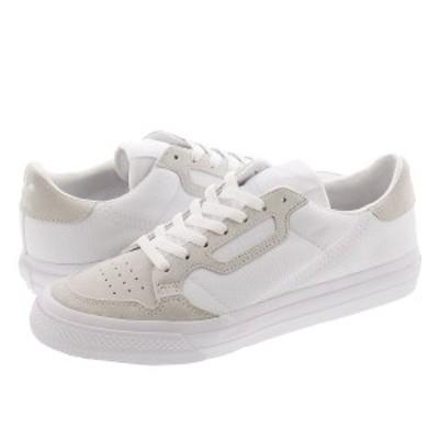 adidas CONTINENTAL VULC アディダス コンチネンタル 80 バルカ FTWR WHITE/FTWR WHITE/FTWR WHITE ef3523