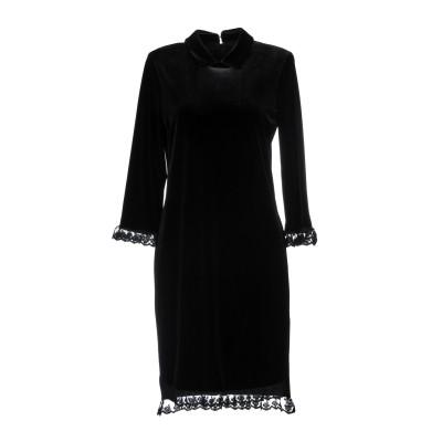 シルビアンヒーチ SILVIAN HEACH ミニワンピース&ドレス ブラック XXS ポリエステル 92% / ポリウレタン 8% ミニワンピース