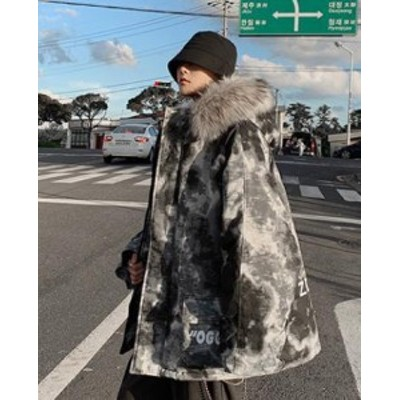 日系人気厚手防寒性抜群 ダウンジャケット 冬季着 通勤コート アウターコートプラスサイズ韓国スタイル上着厚く綿服 フード付き