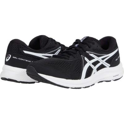 アシックス ASICS メンズ ランニング・ウォーキング シューズ・靴 GEL-Contend 7 Black/White