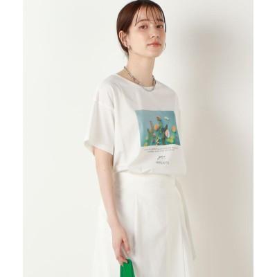 (NOLLEY'S/ノーリーズ)gui×NOLLEY'S別注 フラワープリントTシャツ/レディース グリーン系その他3