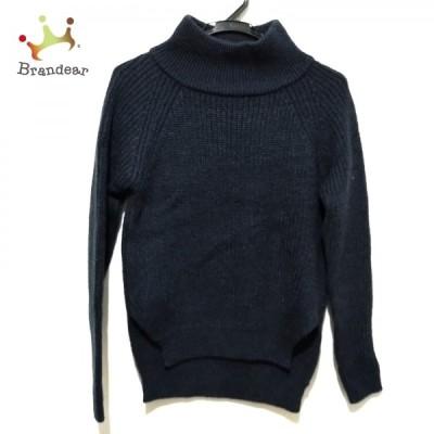 ネミカ 長袖セーター サイズ0 XS レディース - ネイビー タートルネック 新着 20210305
