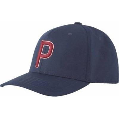 プーマ メンズ 帽子 アクセサリー PUMA Men's Sunset P 110 Snapback Golf Hat Navy Blazer