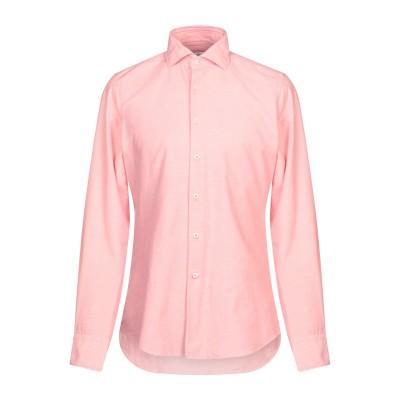 グランシャツ GLANSHIRT シャツ パステルピンク 39 コットン 100% シャツ