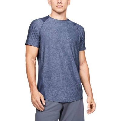 アンダーアーマー Under Armour メンズ Tシャツ トップス MK-1 T-Shirt (Regular and Big & Tall) Blue Ink/Mod Gray