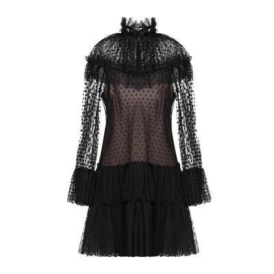 アルベルタ フェレッティ ALBERTA FERRETTI ミニワンピース&ドレス ブラック 38 ナイロン 100% ミニワンピース&ドレス