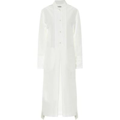 ジル サンダー Jil Sander レディース ワンピース シャツワンピース ワンピース・ドレス Midi shirt dress Natural