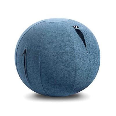 山崎実業(Yamazaki) シーティングボール ルーノ シェニール ブルー 約65×65×65� Vivora LUNO CHENILLE ルーノ シェニール