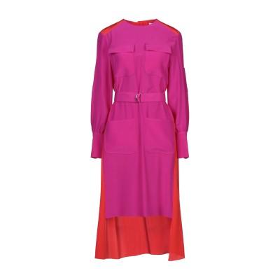クロエ CHLOÉ 7分丈ワンピース・ドレス パープル 34 シルク 100% 7分丈ワンピース・ドレス