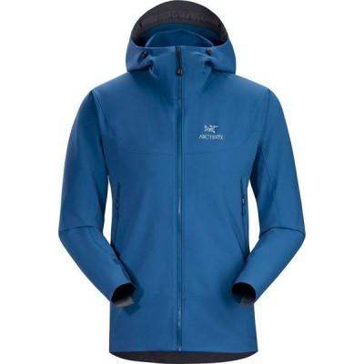 (取寄)アークテリクス メンズ ガマー LT フーデッド ソフトシェル ジャケット Arc'teryx Men's Gamma LT Hooded Softshell Jacket Cobalt Sun