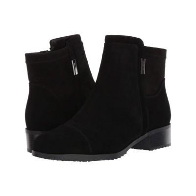 VALDINI レディース ブーツ シューズ・靴 Mick Waterproof Boot Black Suede