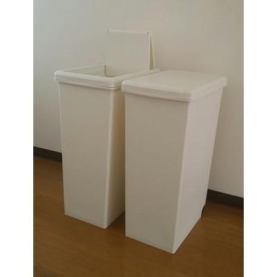 平和工業 スライドペール ホワイト 45L ホワイト 4907556239419 1セット(2個入)(直送品)