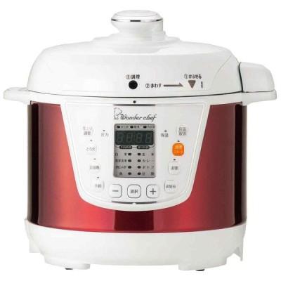 ワンダーシェフ マイコン電気圧力鍋 3L(OEDC30 R1)310279