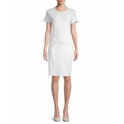 ジェームズパース レディース ワンピース Short-Sleeve Twist-Front Dress