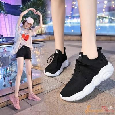 スニーカー レディース  スポーツ シューズ ランニングシューズ ドライビング 走れる 靴 おしゃれ 歩きやすい  運動会 通気性 軽量 厚底 歩きやすい