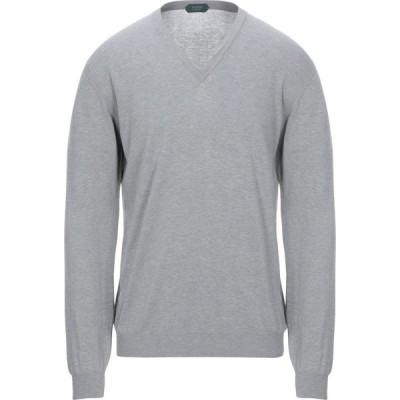 ザノーネ ZANONE メンズ ニット・セーター トップス sweater Light grey