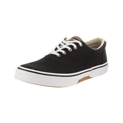 Sperry Men's, Halyard CVO Sneaker Black TAN 13 M【並行輸入品】