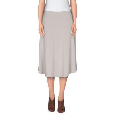 メゾン マルジェラ MAISON MARGIELA ひざ丈スカート ライトグレー 40 レーヨン 95% / ポリウレタン 5% ひざ丈スカート