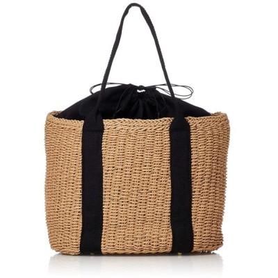 キンシュウ レディース 草編みカゴバッグ 手提げ 巾着 ハンドルバック リゾート bag076 バッグ