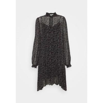 セカンド フィメール レディース ワンピース トップス KAYLAN DRESS - Day dress - black black