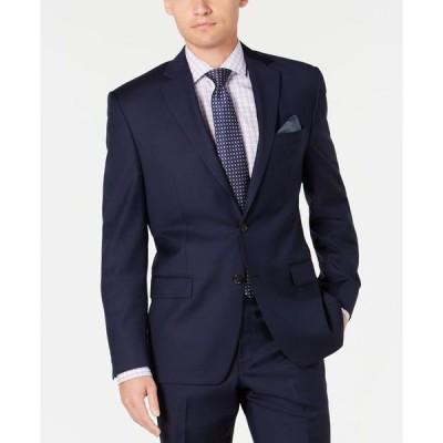 ラルフローレン メンズ ジャケット・ブルゾン アウター Men's Slim-Fit UltraFlex Stretch Navy Solid Suit Separate Jacket