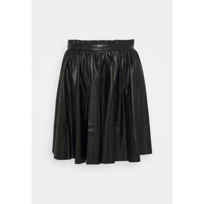 エディテッド レディース ファッション ALITA SKIRT - Mini skirt - schwarz