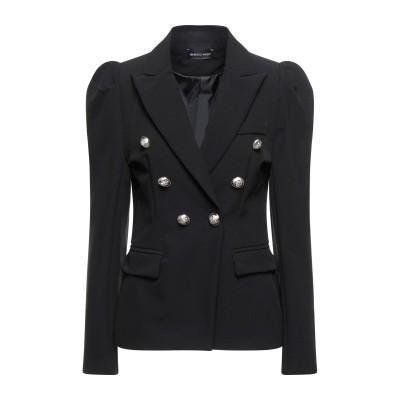 VANESSA SCOTT テーラードジャケット ブラック M ポリエステル 90% / ポリウレタン 10% テーラードジャケット