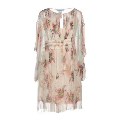 ブルマリン BLUMARINE ミニワンピース&ドレス ホワイト 44 シルク 100% ミニワンピース&ドレス