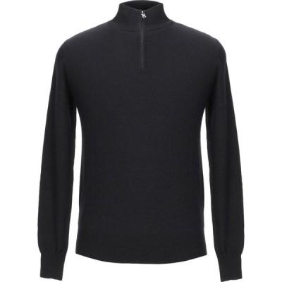 バランタイン BALLANTYNE メンズ ニット・セーター トップス sweater with zip Black