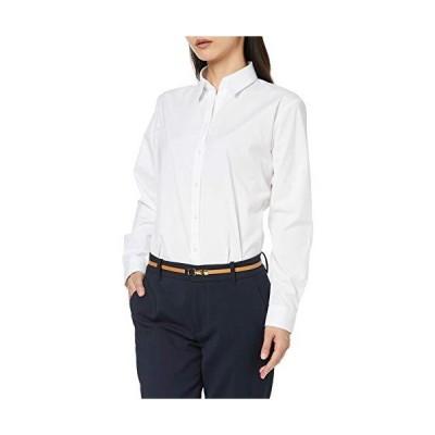 [オリヒカ] 【就活応援】形態安定/機能的白ブラウス 選べる襟型デザイン シャツカラー/スキッパーカラー レデ