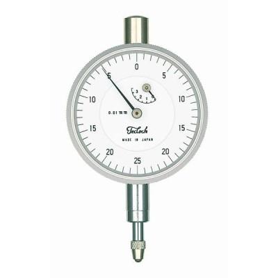 テクロック (TECLOCK)  小型 ダイヤルゲージ 【目量0.01/測定範囲3.5】 TM-37C