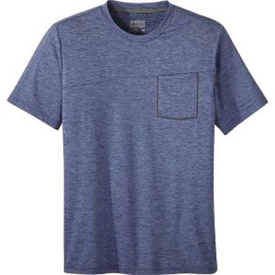 アウトドアリサーチ メンズ Tシャツ トップス Outdoor Research Men's Chain Reaction Tee Twilight Heather
