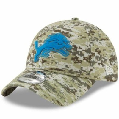 New Era ニュー エラ スポーツ用品  New Era Detroit Lions Camo Digi 9TWENTY Adjustable Hat