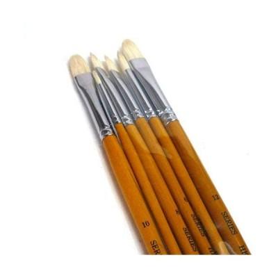 ゆめ画材 限定 中里 油彩筆 6本組セット