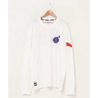 tシャツ Tシャツ PUMA プーマ PUMA x THE HUNDREDS  長袖 Tシャツ