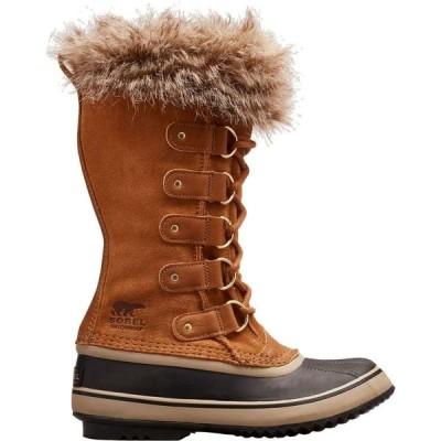 ソレル SOREL レディース ブーツ ウインターブーツ シューズ・靴 Joan of Arctic Insulated Waterproof Winter Boots Camel brown
