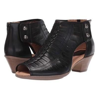 Earth Vicki レディース ブーツ Black Leather