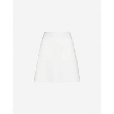 サンドロ SANDRO レディース ミニスカート スカート Elanna stretch-jersey mini skirt WHITE