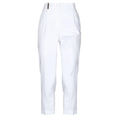 ペゼリコ PESERICO パンツ ホワイト 40 コットン 97% / ポリウレタン 3% パンツ