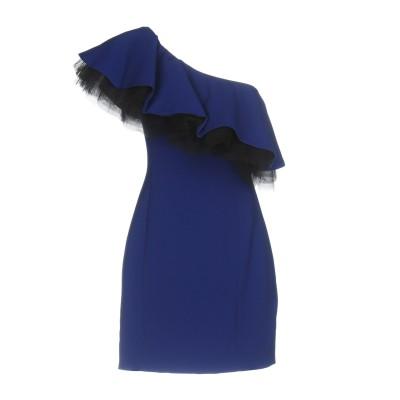 LUCILLE ミニワンピース&ドレス ブライトブルー 44 ポリエステル 97% / ポリウレタン 3% ミニワンピース&ドレス