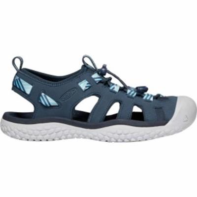 キーン Keen レディース サンダル・ミュール シューズ・靴 KEEN SOLR Sandals Navy/Blue